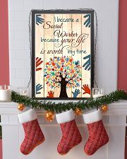 I BECAME A SOCIAL WORKER BECAUSE YOU LIFE POSTER 11x17 Poster lifestyle-holiday-poster-4