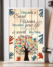 I BECAME A SOCIAL WORKER BECAUSE YOU LIFE POSTER 11x17 Poster lifestyle-poster-4
