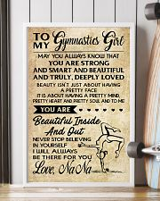 1 TO MY  Gymnastics Girl 11x17 Poster lifestyle-poster-4