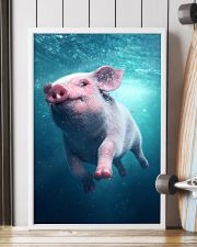 Pig - Pig  swim in sea Poster - TL 16x24 Poster lifestyle-poster-4