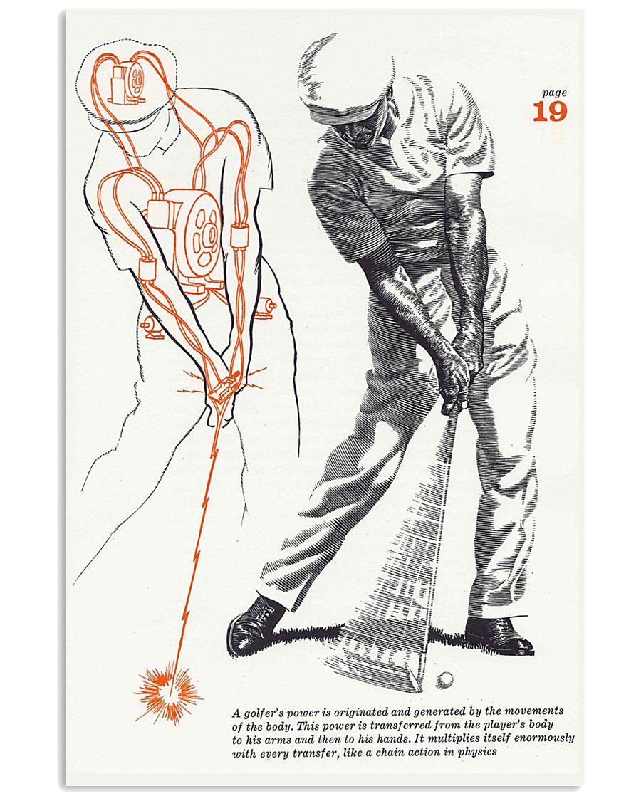 GOLF POSTER 11x17 Poster