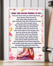 I Make this solemn promise to you - Skating 16x24 Poster lifestyle-poster-4