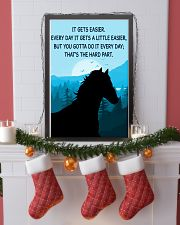 Horse It Gets Easier Poster 11x17 Poster lifestyle-holiday-poster-4