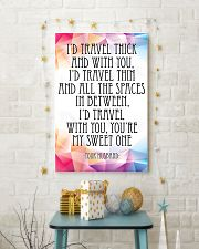 YOUR HUSBAND-I'D TRAVEL THICK AND WITH YOU 16x24 Poster lifestyle-holiday-poster-3