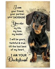 Dachshund - Your Friend Poster SKY 11x17 Poster front