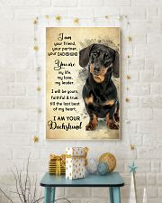 Dachshund - Your Friend Poster SKY 11x17 Poster lifestyle-holiday-poster-3