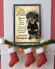 Dachshund - Your Friend Poster SKY 11x17 Poster lifestyle-holiday-poster-4
