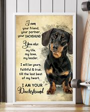 Dachshund - Your Friend Poster SKY 11x17 Poster lifestyle-poster-4