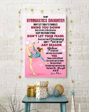 GYMASTICS - DON'T LET TODAY'S TROUBLES POSTER 24x36 Poster lifestyle-holiday-poster-3