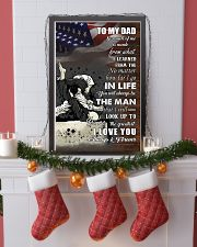 jiu jitsu - to my dad so much of me poster - SR 11x17 Poster lifestyle-holiday-poster-4