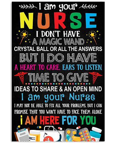 I AM YOUR NURSE POSTER
