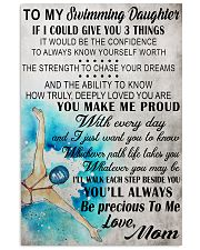 I COULD GIVE YOU swimming 11x17 Poster front