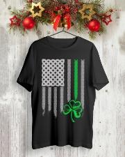 IRISH 5 Classic T-Shirt lifestyle-holiday-crewneck-front-2