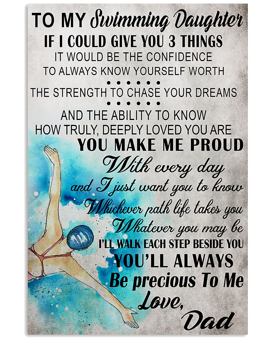 5 I COULD GIVE YOU swimming 16x24 Poster