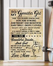 TO MY GYMNASTICS GIRL - LOVE MOM 11x17 Poster lifestyle-poster-4