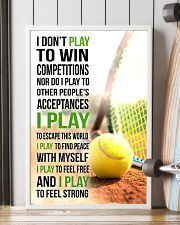 I DON'T PLAY TO WIN COMPETITIONS - TENNIS 24x36 Poster lifestyle-poster-4