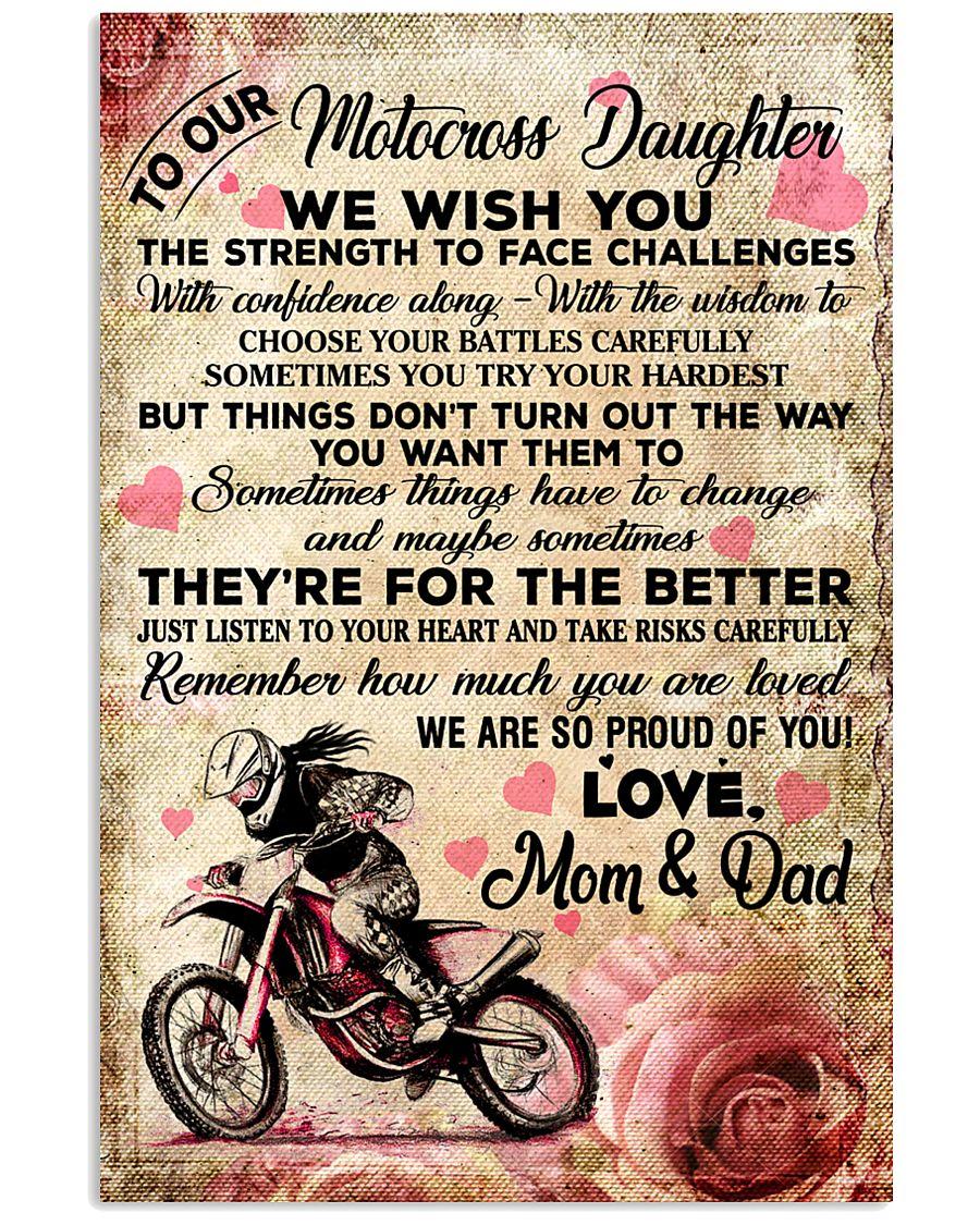 9 For The Better - Motocross 16x24 Poster