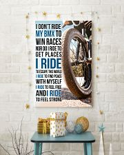7- I DON'T RIDE MY BMX TO WIN RACES poster 11x17 Poster lifestyle-holiday-poster-3