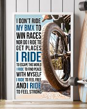 7- I DON'T RIDE MY BMX TO WIN RACES poster 11x17 Poster lifestyle-poster-4