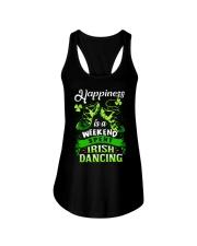 Happiness - Irish Dancing Ladies Flowy Tank thumbnail