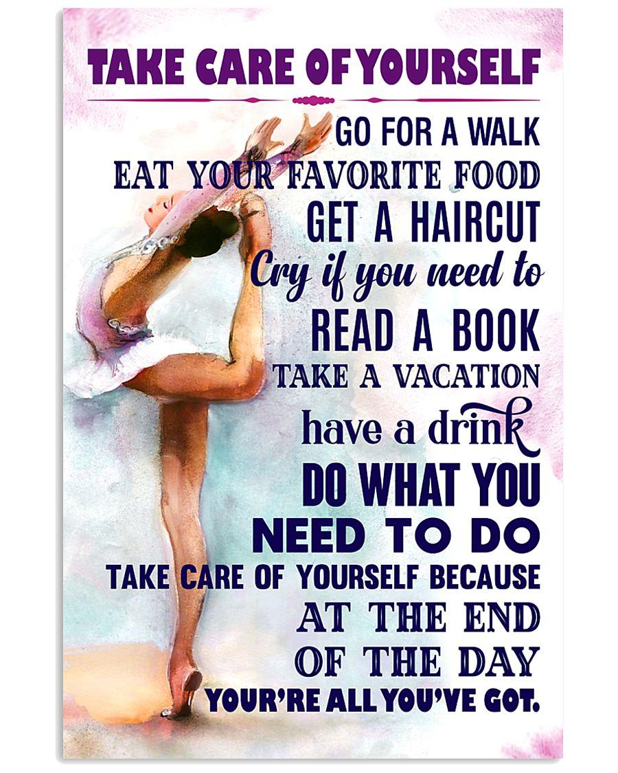 Take care of yourself - GYMNASTICS 11x17 Poster
