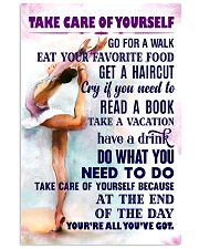 Take care of yourself - GYMNASTICS 11x17 Poster front