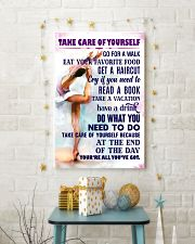 Take care of yourself - GYMNASTICS 11x17 Poster lifestyle-holiday-poster-3