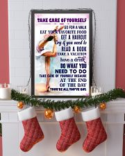 Take care of yourself - GYMNASTICS 11x17 Poster lifestyle-holiday-poster-4