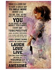 karate- TODAY IS A GOOD DAY POSTER 16x24 Poster front