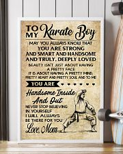 TO MY KARATE BOY - MOM 16x24 Poster lifestyle-poster-4