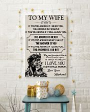 TO MY WIFE - I LOVE YOU 16x24 Poster lifestyle-holiday-poster-3