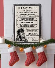 TO MY WIFE - I LOVE YOU 16x24 Poster lifestyle-holiday-poster-4