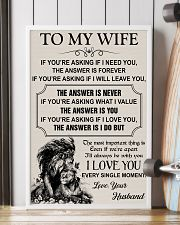 TO MY WIFE - I LOVE YOU 16x24 Poster lifestyle-poster-4