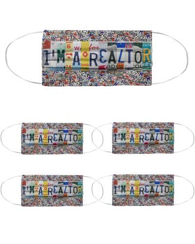 i'm a realtor license plates mask