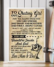 3 TO OUR  Skating Girl - Mom  Dad 16x24 Poster lifestyle-poster-4