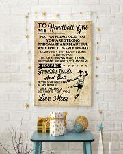 TO MY HANDBALL GIRL- MOM 16x24 Poster lifestyle-holiday-poster-3