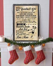 TO MY HANDBALL GIRL- MOM 16x24 Poster lifestyle-holiday-poster-4