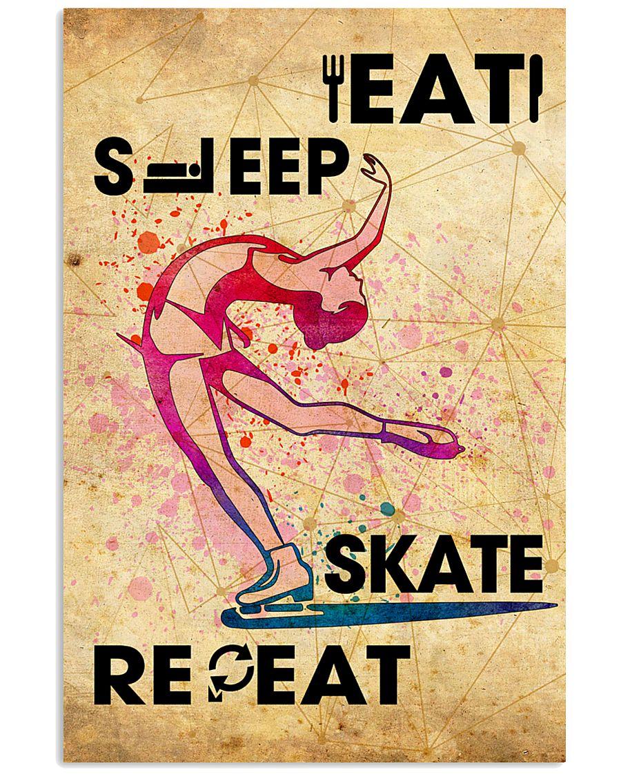 EAT SLEEP SKATE - POSTER 11x17 Poster