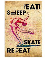 EAT SLEEP SKATE - POSTER 11x17 Poster front