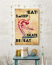 EAT SLEEP SKATE - POSTER 11x17 Poster lifestyle-holiday-poster-3