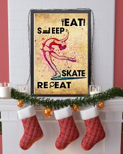 EAT SLEEP SKATE - POSTER 11x17 Poster lifestyle-holiday-poster-4