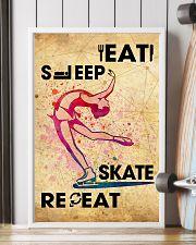 EAT SLEEP SKATE - POSTER 11x17 Poster lifestyle-poster-4