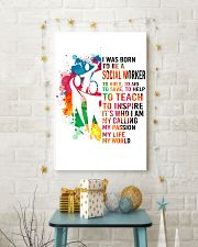 social worker- I WAS BORN 11x17 Poster lifestyle-holiday-poster-3