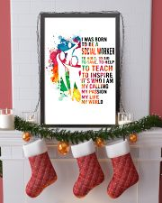 social worker- I WAS BORN 11x17 Poster lifestyle-holiday-poster-4
