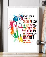 social worker- I WAS BORN 11x17 Poster lifestyle-poster-4