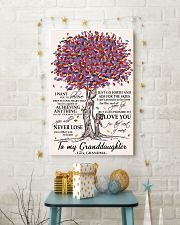 TO MY GRANDDAUGHTER 11x17 Poster lifestyle-holiday-poster-3