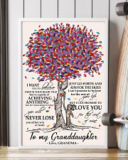 TO MY GRANDDAUGHTER 11x17 Poster lifestyle-poster-4