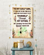 TO MY GOLF GIRL - YOU ARE TO ME 11x17 Poster lifestyle-holiday-poster-3