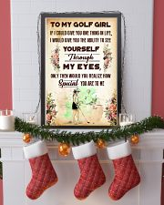 TO MY GOLF GIRL - YOU ARE TO ME 11x17 Poster lifestyle-holiday-poster-4
