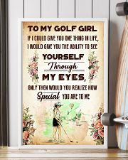 TO MY GOLF GIRL - YOU ARE TO ME 11x17 Poster lifestyle-poster-4